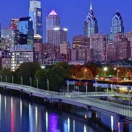 Skyline Photos of America - Philly Night Lights