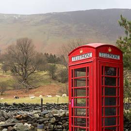 Paul Cowan - Phone box vertical