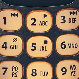 Phone Key Pad by Bryan Mullennix