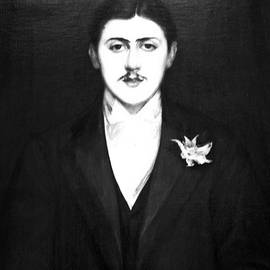 Photograph of Marcel Proust  Painting in Orsay museum in Paris. . by Cyril Jayant