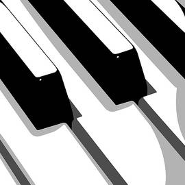 Piano Keyboard by Michael Tompsett