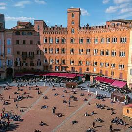 Joan Carroll - Piazza del Campo Siena Italy