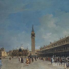 Piazza San Marco, 1760 - Francesco Guardi