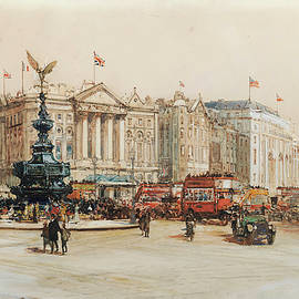 Piccadilly Circus - Charles Edward Dixon