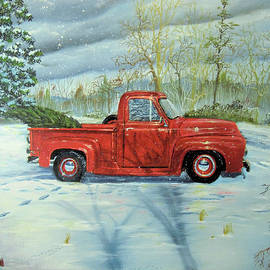 Nicole Angell - Picking Up the Christmas Tree