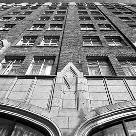 Matt Harang - Pickwick Hotel - San Francisco - Looking Up 2 - Black and White