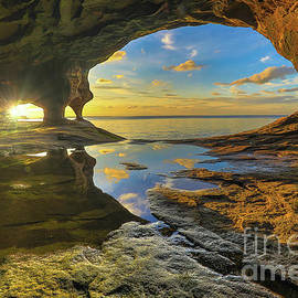 Norris Seward - Pictured Rocks Caves -1843
