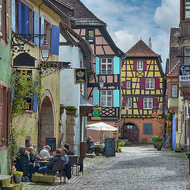 Joachim G Pinkawa - picturesque Alsation Riquewihr II
