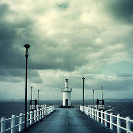 Carlos Caetano - Pier and Lighthouse