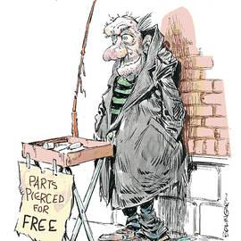Bruce Bolinger - Pierced for free