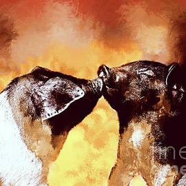 KaFra Art - Piglet Kisses