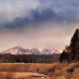 Pikes Peak Colorado Landscape Art By Jai Johnson by Jai Johnson