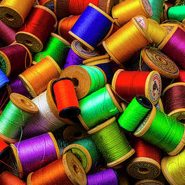 Pile Of Old Spools Of Thread - Garry Gay