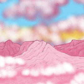 Pink Mountains by Chante Moody