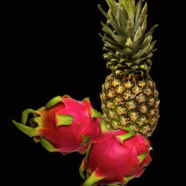 David French - Pineapple and Dragon Fruit