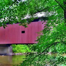 Pinetown Covered Brdige by Lisa Wooten