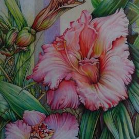 Catherine Robertson - Pink and Lucious Day Lily