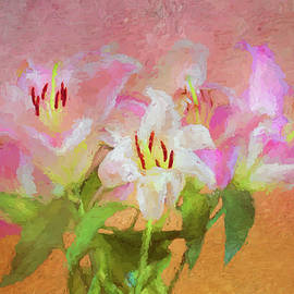 Bellesouth Studio - Pink And White Lilies