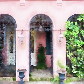 Kathy Jennings - Pink Arches