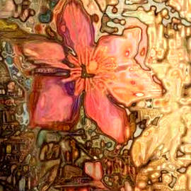 Pink Clematis by Amanda Moore