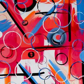 Jilian Cramb - AMothersFineArt - Pink Geometry