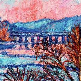 Kendall Kessler - Pink Glow on the New River