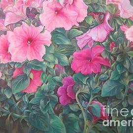 Farideh Haghshenas - Pink Petunias