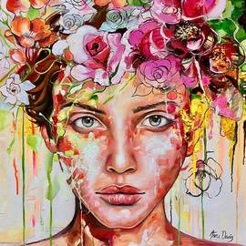 Anna Davis - Pink Rose
