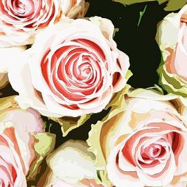 Pink Roses Painting by Femina Photo Art By Maggie