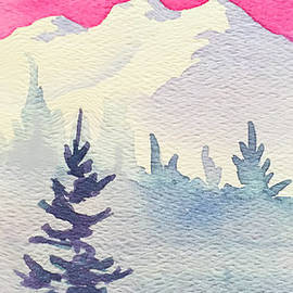 Pink Sky by Teresa Ascone