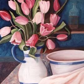Pink Tulips by Renate Wesley