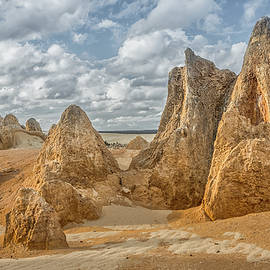 Martin Capek - Pinnacles landscape