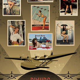 Pinups - The Aviation Collection by Doug Matthews