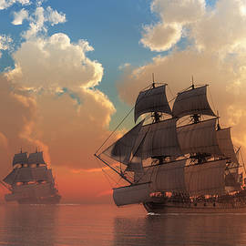 Daniel Eskridge - Pirate Sunset
