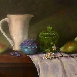 Pitcher Of Health by Anne Barberi