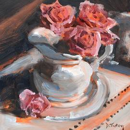 Donna Tuten - Pitcher of Roses