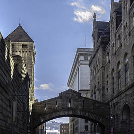 Pittsburgh Bridge of Sighs by Steven Richman