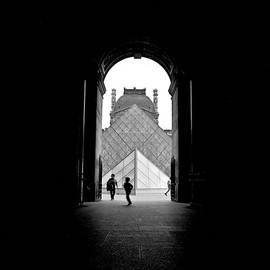 Place du Louvre by Cyril Jayant