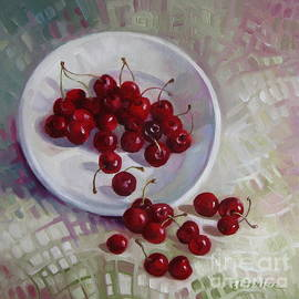 Elena Oleniuc - Plate with cherries