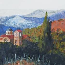 Nigel Radcliffe - Platres Church Troodos Mountains Cyprus