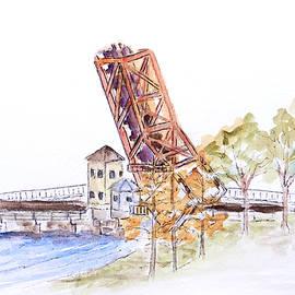 Patricia Beebe - Cass Street Bridge, Tampa