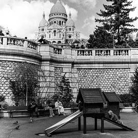 Gerry Walden - Playground, Sacre Cour, Paris