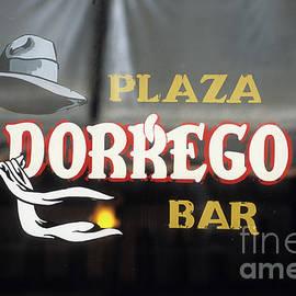 Plaza Dorrego Bar Buenos Aires by James Brunker