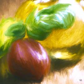 Marci Potts - Plum Tomatoes Basil and Olive Oil
