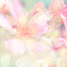 Plumeria Pink Parfait by Sharon Mau