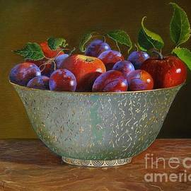 Katarzyna Lappin - Plums and Apples