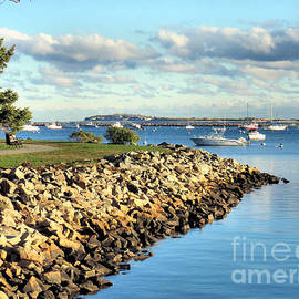 Janice Drew - Plymouth Harbor Coastline