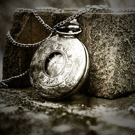Pocket Watch Sepia by Sharon Popek