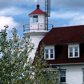 Point Betsie Light, Michigan by Kenneth Campbell