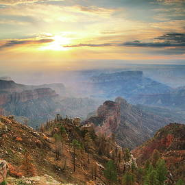 Roupen  Baker - Point Imperial Sunrise, Grand Canyon